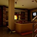 Detalhe textura escada_Casa SJ