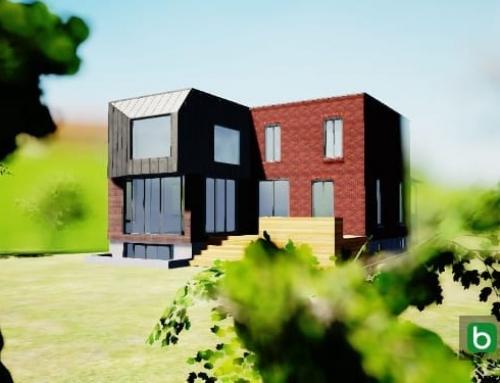 Renovação e reconstrução com um software BIM: Dulwich Residence