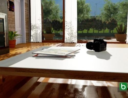 Como criar fotos esféricas em 360° com um software BIM
