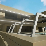 Piscina e fachada_Marbella II_Edificius