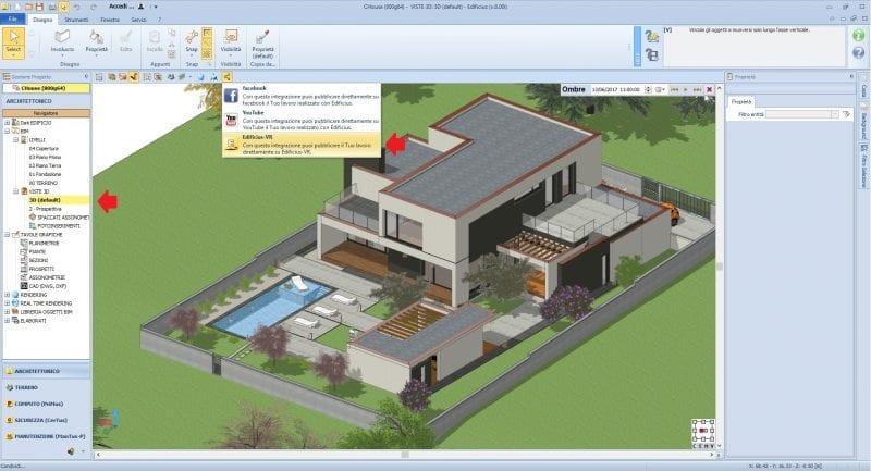 Partilha de um projeto BIM em Edificius-VR