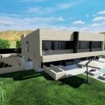 Área piscina_Park House_Edificius