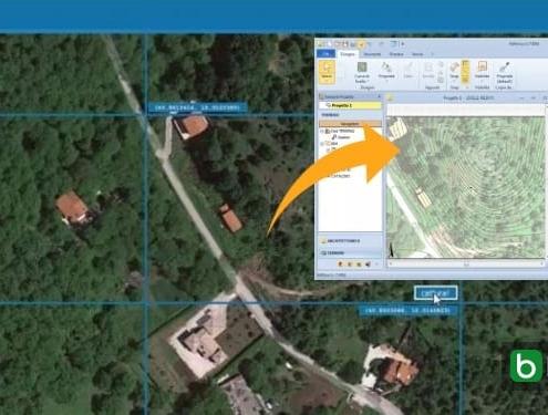 Importar a morfologia do terreno de Google Maps num software BIM_Edificius