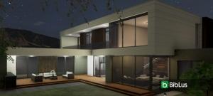 Desenho arquitetônico de uma casa com um software BIM: Country House em Marfino_Edificius