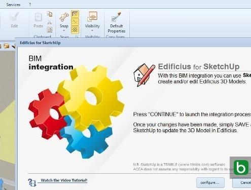 inserir os objetos 3D criados com SketchUp Edificius