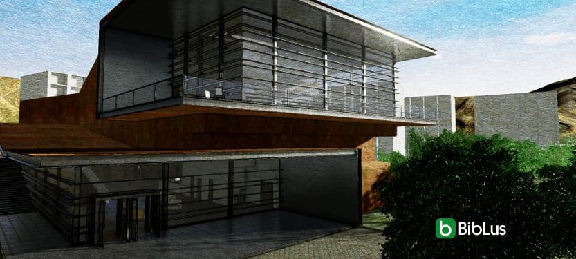 Desenhar edifícios públicos com um software BIM: a biblioteca de Daegu Gosan_Edificius