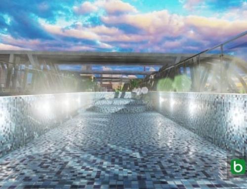 Desenhar uma piscina externa com um software BIM: o exemplo de Nahil Kan