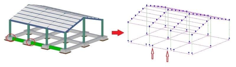Ligação entre encabeçamentos de estacas