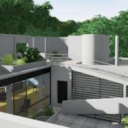 Villa Savoye com um software BIM Edificius