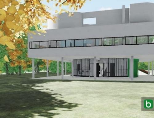 Villa Savoye desenhada com um software BIM (parte 2)