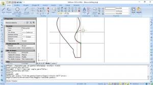 Desenho do corrimão com Edificius-CAD