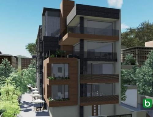 Como desenhar um teto jardim com um software BIM: Cuboid House