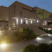 Exemplo de projeto com um software BIM para arquitetura Volumes Symphony_Edificius