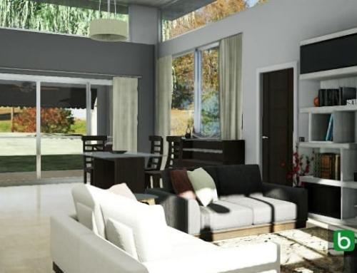 Como otimizar e personalizar a renderização de interiores com um software BIM