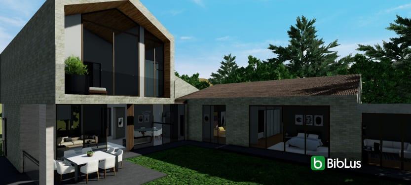 desenhar uma residência unifamiliar com um software BIM_Edificius