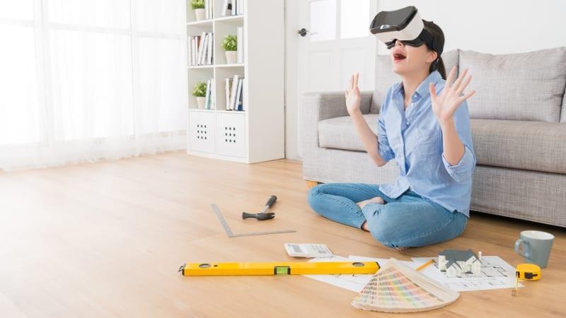 Desenho arquitetônico e realidade virtual