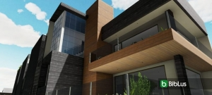 Como modelar a fachada de um edifício: Cuboid House_Edificius