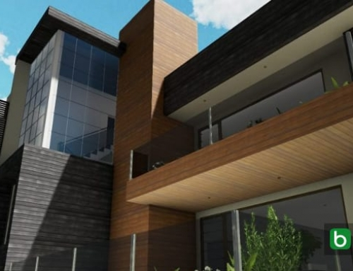 Como modelar a fachada de um edifício: Cuboid House