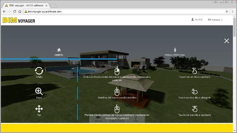 Navegar nos modelos BIM online com BIM-voyager
