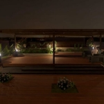 Teto jardim de Cuboid House