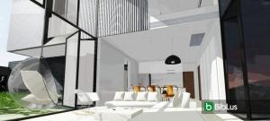 Projetar uma casa seguindo as instruções do cliente Edificius