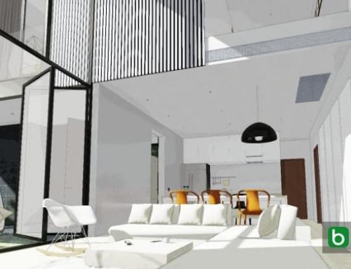 Projetar uma casa seguindo as instruções do cliente: YAK01