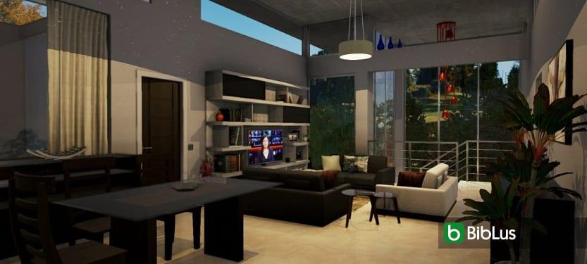 Como modelar e personalizar os espaços internos de uma casa Edificius