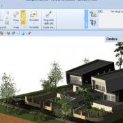 istas do modelo para realizar renderizações arquitetônicas software BIM Edificius