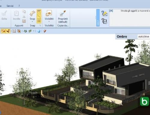 Definir as vistas do modelo para realizar renderizações arquitetônicas