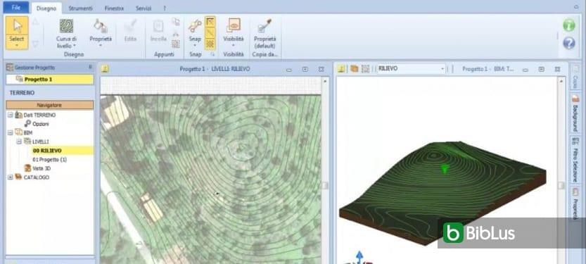 Criar um terreno em 3D com as curvas de nível_Edificius