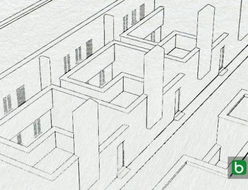 Casas geminadas de arquitetos famosos, o projeto de Siza: desenhos DWG e modelos 3D BIM para baixar