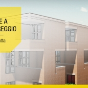 Casas geminadas contemporaneas de arquitetos famosos o projeto de Botta com modelo BIM e plantas DWG para baixar software BIM Edificus