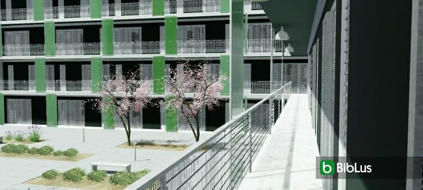Habitação social: projetos famosos com desenhos DWG e modelos 3D BIM para baixar_Edificius