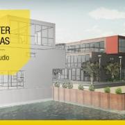 Caracteristicas das casas geminadas com desenhos DWG e modelos 3D BIM para baixar Water Villas software BIM Edificius