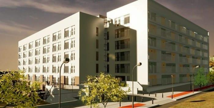 Habitação social - Terrassa Espanha - Render realizado com Edificius