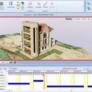 """BIM 4D: o que é e como fazer para associar a propriedade """"tempo"""" a um objeto do modelo BIM_software BIM Edificius"""