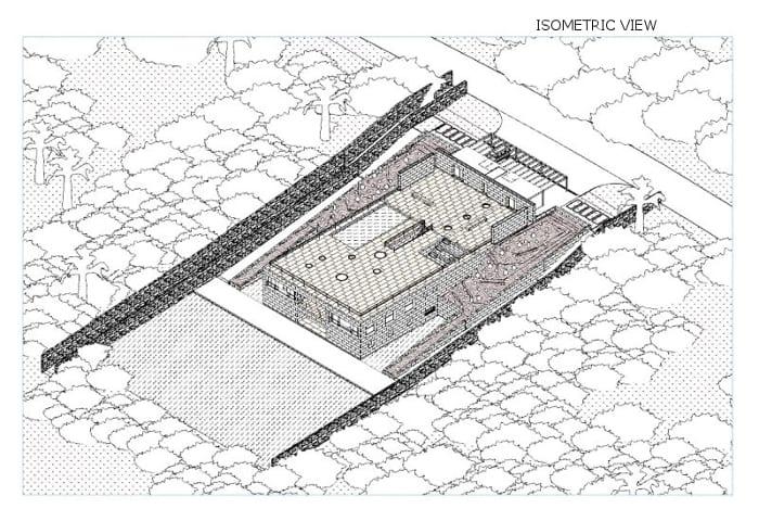 House of the Infinite - axonometria-software-BIM-Edificius