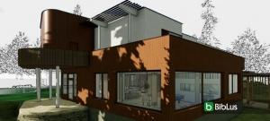 Villa Mairea, o projeto em DWG e 3D BIM para baixar de uma obra de arte do século XX_Edificius