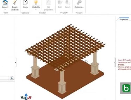 Converter para o formato IFC um modelo 3D