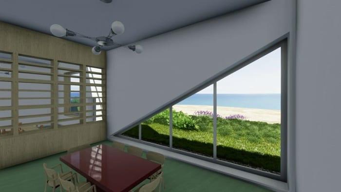 Day-care-centre_Raa_vista-sala de aulas_render-programa de arquitetura BIM-Edificius
