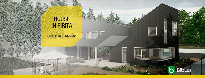 House in Pirita-Kadarik Tuur Arhitektid-Projetos de casas unifamiliares para baixar_software-BIM-Edificius