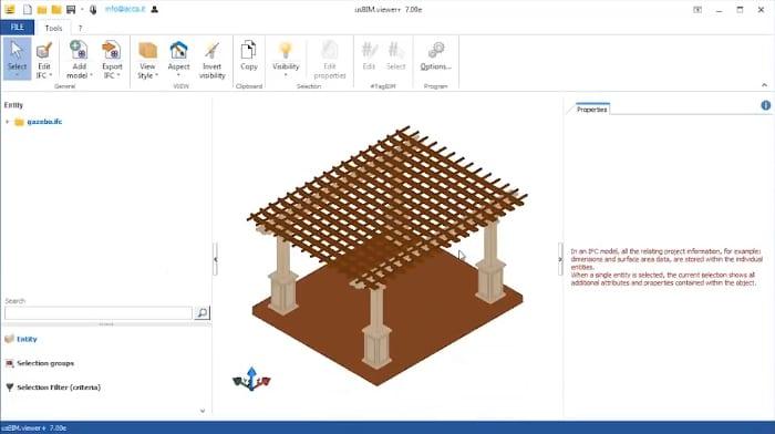Início conversão-IFC_visualizador-IFC-usBIM.viewer