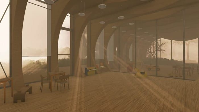 Janelas-creche-La-Balena_Render_projetos-de-escolas-software-BIM-arquitetura-Edificius