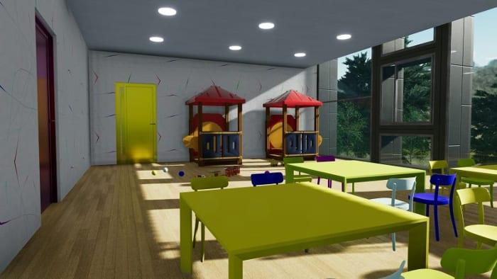Laboratório__projetos de escolas-Troplo-Kids_render_programa de arquitetura BIM_Edificius