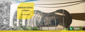 Projetos de escolas com arquivos dwg para baixar-NURSERY SCHOOL_La-Balena_MC-Architects
