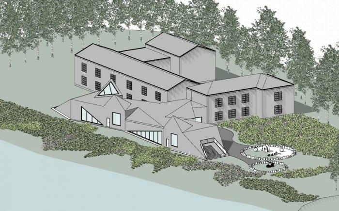 Raa-Day-Care-Center-Axonometria_programa de arquitetura BIM-Edificius