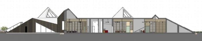 Raa-Day-Care-Center-Corte-B-B_programa de arquitetura BIM-Edificius