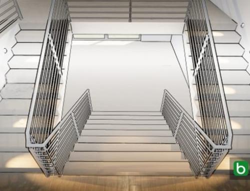 Como desenhar uma escada: critérios e exemplos para baixar