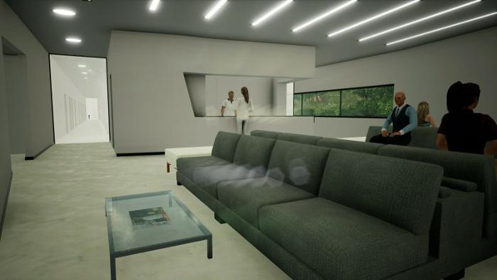 Harvey-Pediatric-Clinic_Render-recepção-programa-arquitetura-BIM-Edificius