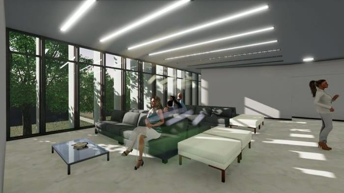 Harvey-Pediatric-Clinic_Render-sala-de espera-programa- arquitetura-BIM-Edificius